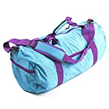 Cheap 23″ Large Sports Duffel Gym/Travel Bag Carry On Collapsible Lightweight Sports Gym Bag (Teal Green)