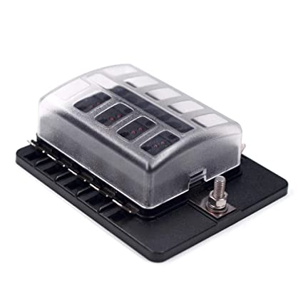 10-way fuse block quick terminal – joyho fuse box atc/ato with led