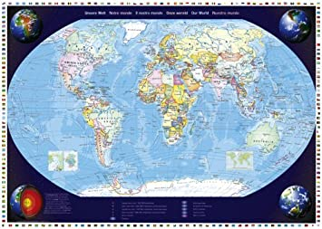 schmidt map of our world adult jigsaw 2000 pieces