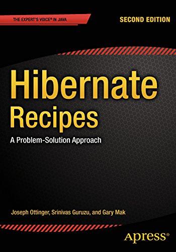 Download Hibernate Recipes: A Problem-Solution Approach Pdf