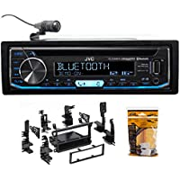JVC CD Receiver w/Bluetooth USB/iPhone/Android/XM For 1998-2001 Nissan Altima