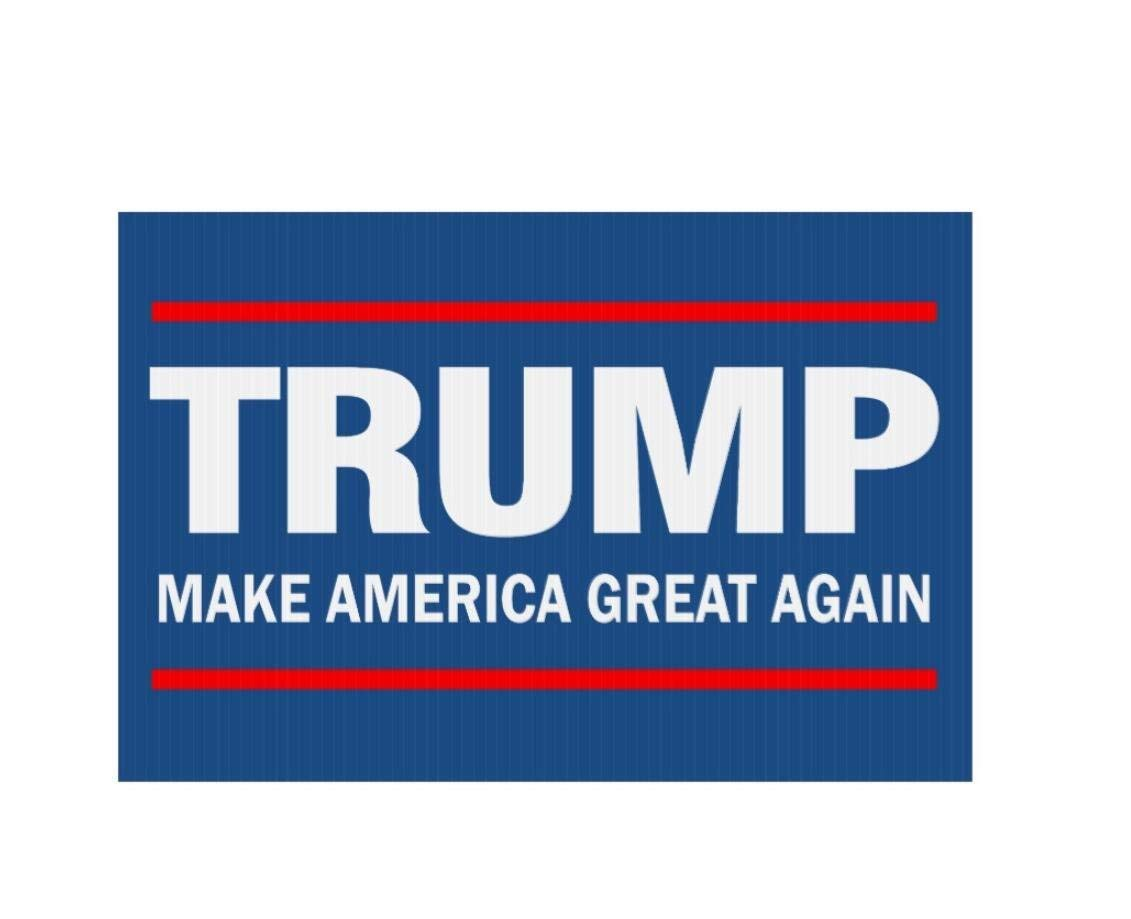 Custom Make America Great Again - Trump Sign Personalized Indoor Floor Mats Living Room Bedroom Doormat 23.6(L) x 15.7(W) Haipaul