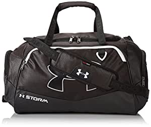 Under Armour Undeniable Duffel Bag, Black/White, One Size