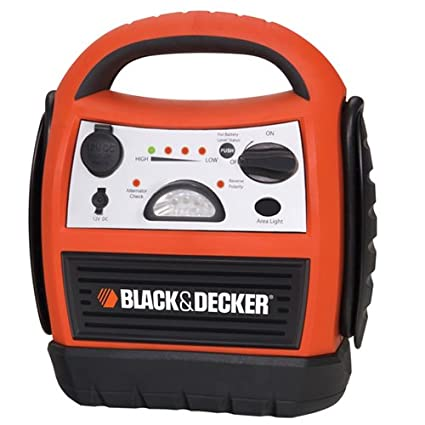 Amazon.com: BLACK+DECKER JU300CB Start It Jump-Starter/Inflator with Compressor - 300 Amp: Automotive