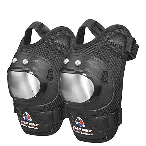 The End of the Desert Protective Knee Pads Skating Knee Pads Adult Breathable Adjustable Aramid Fiber Motocross MTB Shin Guards for Riding Cycling Skating for Multi Sports Skateboarding Inline Roller