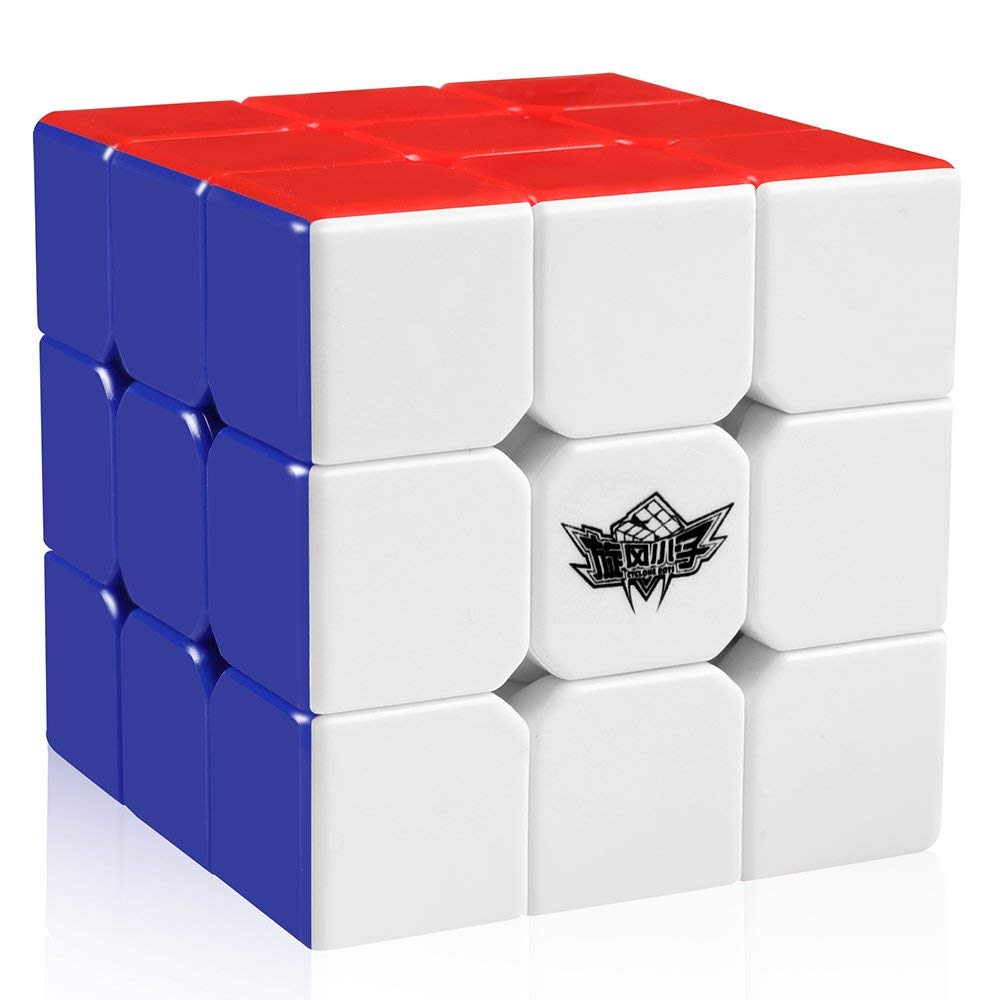 D-FantiX Cyclone Boys Bundle Speed Cube 2x2 3x3 4x4 Stickerless Smooth Magic Cube Puzzles Toy Pack of 3