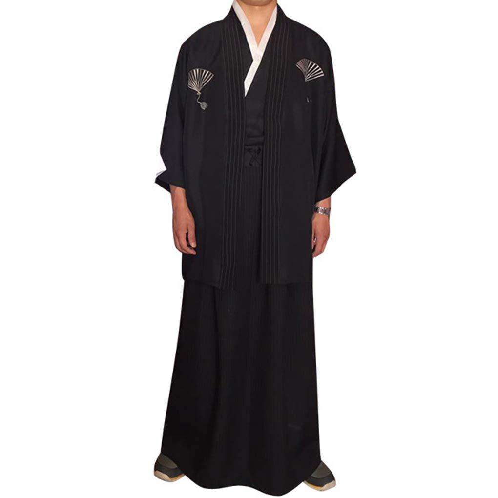 Gankmachine Hombres Tradicionales Raya Samurai Ropa japonés ...