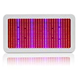 (US) 600 Watt LED Grow Light, EnerEco Horticulture Full Spectrum LED Plant Grow Lamp Light for Hydroponic Greenhouse and Indoor Plant Flowering Growing