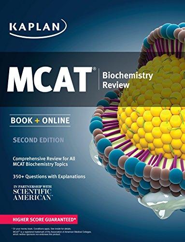 Kaplan MCAT Biochemistry Review: Book + Online (Kaplan Test Prep)
