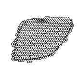 CarPartsDepot, Front Bumper Upper Grill Grille Inner Black Coated Metal Net Left (Driver Side) Replacement, 400-371465-01 GM1200539 22699329