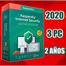 KASPERSKY INTERNET SECURITY 2020 2-AÑOS 3PC