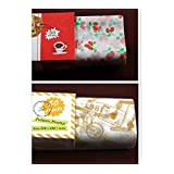 Food Grade Wax Paper Bakery Biscuits Burger Sandwich Candy Food Wrapping Paper Anti-oil Paper / 100 PCS