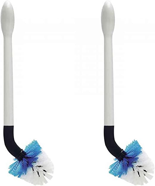 Oxo Good Grips Flex Neck Toilet Bowl Cleaning Brush w/Replaceable Head (2 Pack)