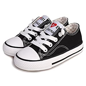 Weestep Toddler/Little Kid Boys Girls Slip On Canvas Sneakers