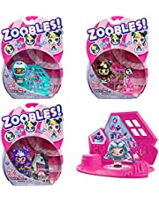 Zoobles Z-Girlz verzamelfiguur met transformatiemechanisme en happitat verrassing (gesorteerd)