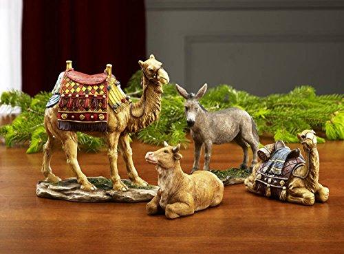 UPC 186906000198, Christmas Nativity Animal Figurines