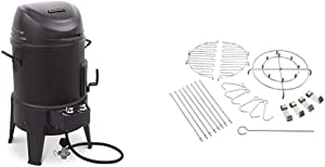Char-Broil The Big Easy TRU-Infrared Smoker Roaster & Grill & The Big Easy 22-Piece Turkey Fryer Accessory Kit