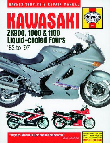 Haynes Manual para Kawasaki ZX900, 1000 y 1100 refrigeración ...
