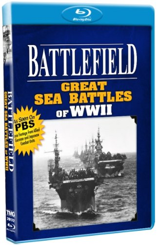 Battlefield - Great Sea Battles of WWII - As Seen on PBS [Blu-ray] by Shout! Factory / Timeless Media