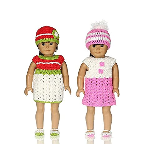 Amazon Aimee Doll Clothes Set 4 Pc Outfit Fit For 18 Inch Doll