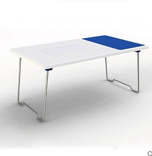 KHSKX Cama simple de moda portátil de escritorio con mesa de ...