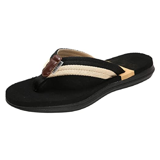 86c1e30c1 Amazon.com  Women Mens Thong Sandals Indoor and Outdoor Beach Flip Flop  Comfortable Fashion Indoor and Outdoor Shoes by Lowprofile  Clothing
