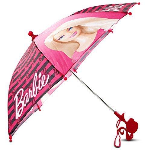 Mattel Little Girls Barbie Character Umbrella, Pink, One Size