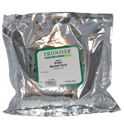 Frontier Mustard Seed (Mustard Seed Brown Whole - 1 lb,(Frontier))