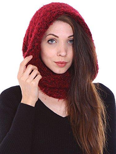 - Simplicity Women's Winter Knit Fuzzy Neck Warmer/Infinity Scarf, Cap/Scarf 1