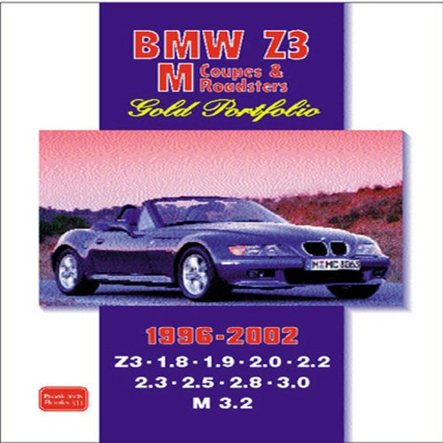 BMW Z3, M Coupe & Roadster 1996-2002 Gold Portfolio