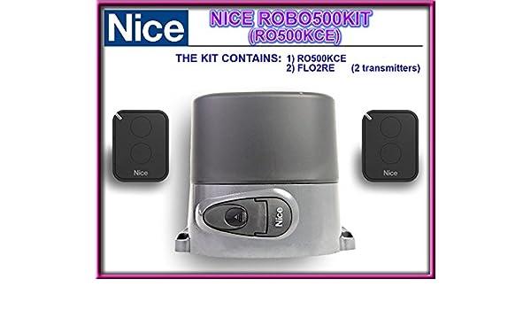 Color ROBO 500 KIT (ro500kce), para puertas de garaje correderas de la para dispositivos de hasta 500 kg.: Amazon.es: Electrónica