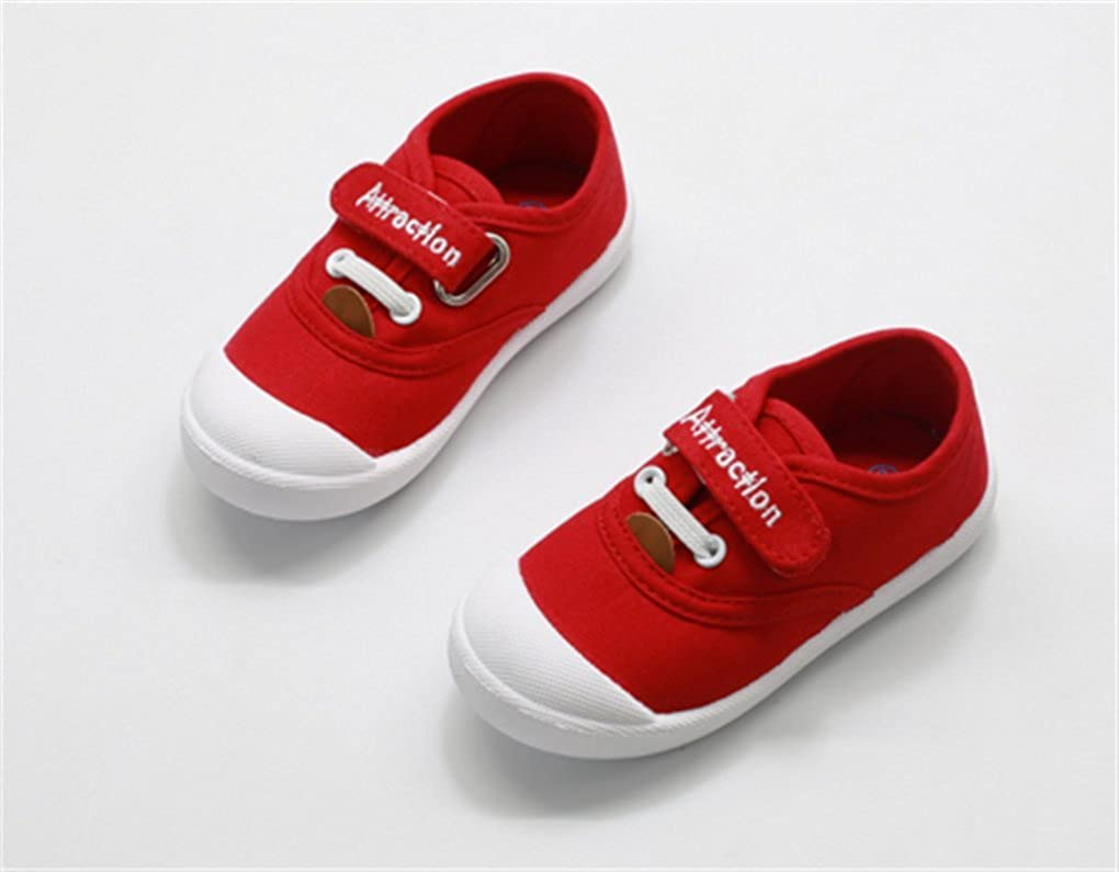 Goodsneaker Kids Slip on Low-top Comfortable and Lightweight Canvas Shoes