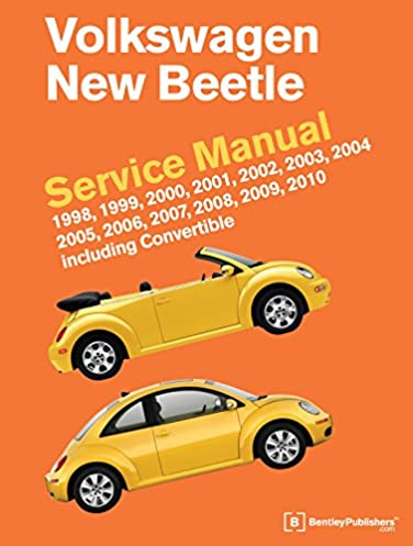 volkswagen new beetle service manual 1998 1999 2000 2001 2002 rh amazon com 2006 vw beetle repair manual pdf 2006 new beetle owners manual pdf