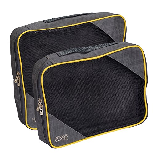 Lewis Clark 2 Pack Charcoal Yellow