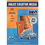 "PPD Inkjet Matt Creative Vinyl Stickers LTR 8.5x11"" 4.7mil x 40 Sheets (PPD038-40)"
