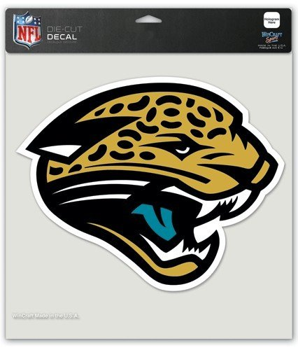 Wincraft NFL Jacksonville Jaguars Die-Cut Color Decal, 8