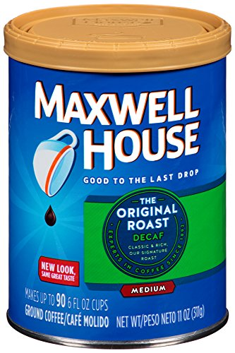 Maxwell House Decaf Original Ground Coffee, 11 Oz
