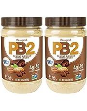 PB2 Bell Plantation Chocolate Powdered Peanut Butter, 1 Pound (2-Pack)