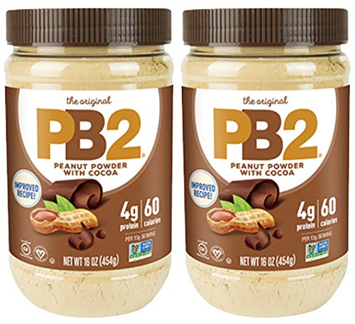 - PB2 Chocolate Powdered Peanut Butter - 1LB - 2 Pack