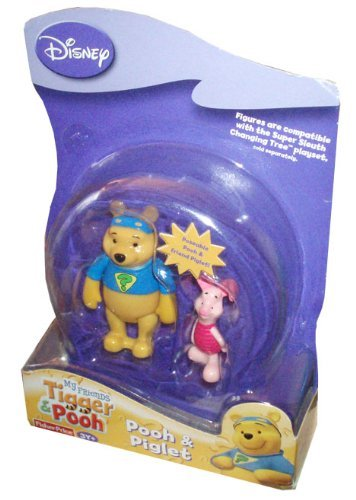 Disney My Friends Tigger & Pooh - Pooh & Piglet Figure Pack -