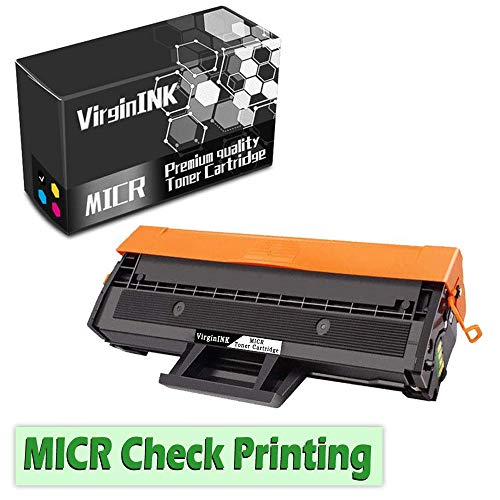 (VirginInk M2020 M2020W Series MICR Check Printing Toner Cartridge Replacement for Samsung Xpress M2020 M2020W Printers(2,000 Page-Yield, 1 Black))