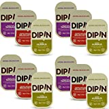 oh snap pickles - DipIn Natural Delicious Dips Variety Pack Gluten Free - Certified Kosher OU 1.42 oz - 12 pack