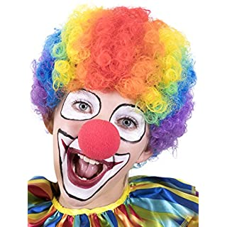 Kangaroo Halloween Accessories - Clown Rainbow Wig