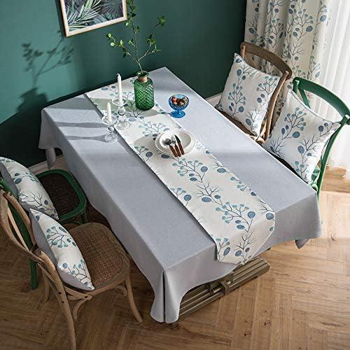 Manteles Mantel Mantel De Color Sólido Tela De Lino De Algodón Mantel Pequeño Y Fresco Mantel