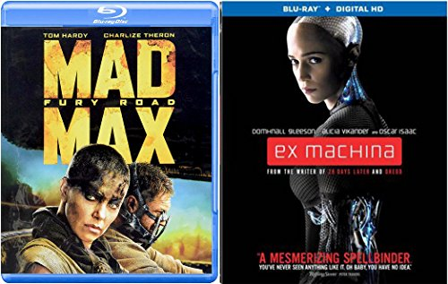 Mad Max Fury Road + Ex Machina Blu Ray Pack Movie Action set 35th Anniversary Mel Gibson