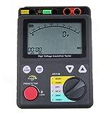 Digital High-Voltage Insulation Tester, Insulation Resistance Testing Range 0.0MΩ~1000GΩ,Rated Voltage 500V/1000V/2500V/5000V , USB Data Connection