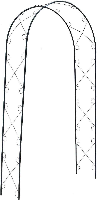defacto DF-002 - Pérgola para enredaderas (230 x 118 x 40 cm ...
