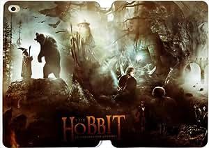[PU del tirón del cuero] iPad mini 4 funda, iPad mini 4 Case, [Tema: El Hobbit] - AK5116
