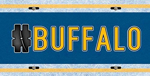 Ryan Miller Buffalo - BleuReign(TM) Hockey Team Hashtag Buffalo #Buffalo Car Vehicle License Plate Auto Tag