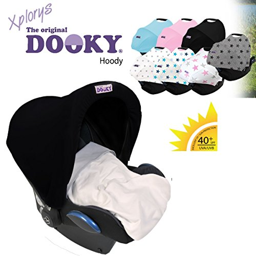 * Carry Cot//Car Seat e.g Black * Maxi Cosi//Cybex etc Original Dooky Babyfit Universal Slipcover//Replacement Cover for 3/and 5-Point Seatbelt System Tribal